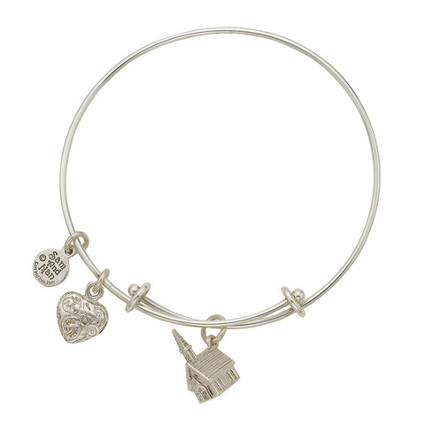 Church Charm Bangle Bracelet - SamandNan