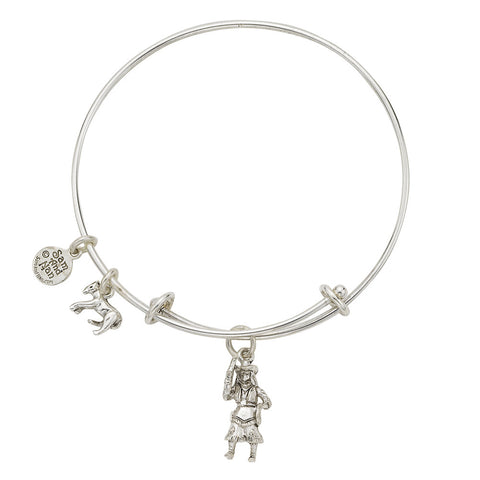 Cowgirl Charm Bangle Bracelet - SamandNan