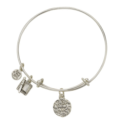 Cracker Charm Bangle Bracelet - SamandNan