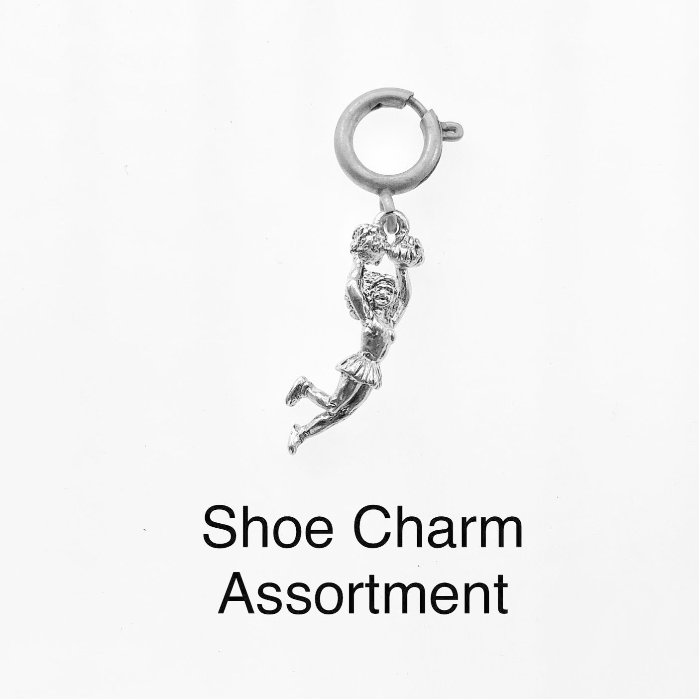 Shoe Charm Assortment - $10.00 Total Cost for Charm and Closure (This is a made to order assembly item)
