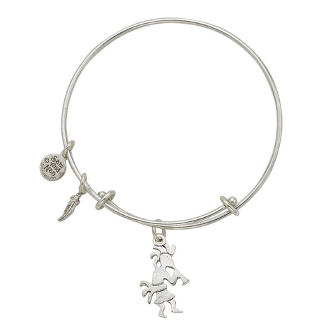 Kokopelli Charm Bangle Bracelet - SamandNan