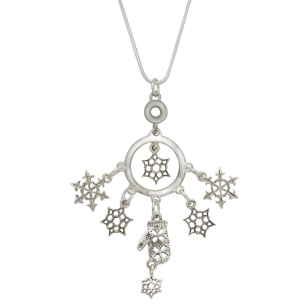 Let It Snow Necklace - SamandNan