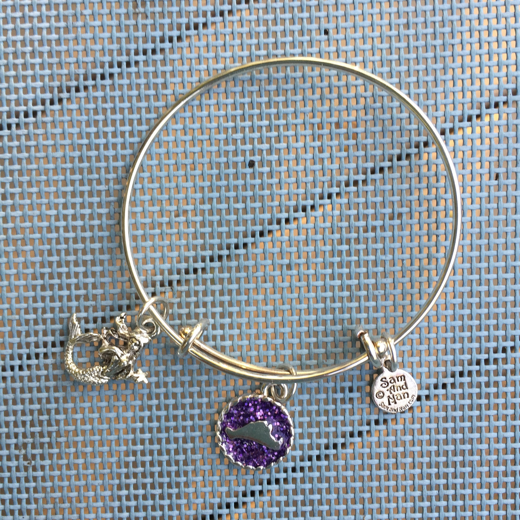product classics silver metallic amethyst gallery david bangle jewelry with yurman in sterling bracelet bangles color set lyst