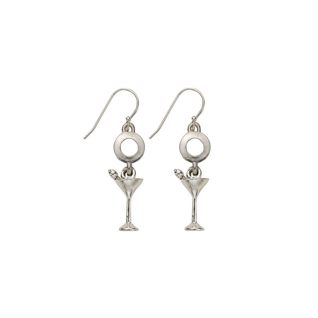 Martini Glass Earrings - SamandNan