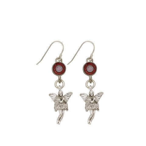 Pink Fairy Earrings - SamandNan