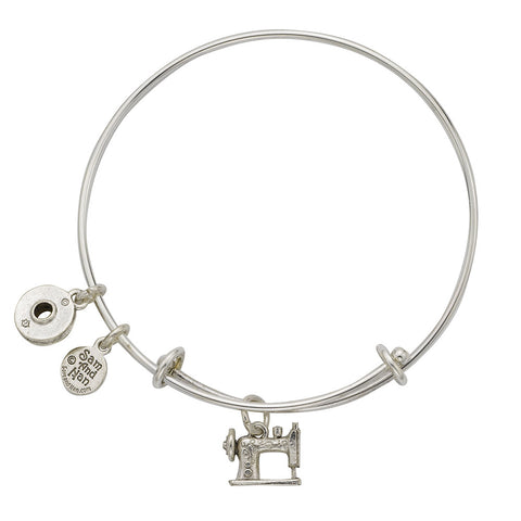 Sewing Machine Bobbin Bangle Bracelet - SamandNan - 1