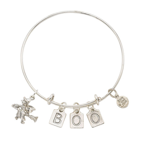 Witch - BOO Bangle Bracelet - SamandNan
