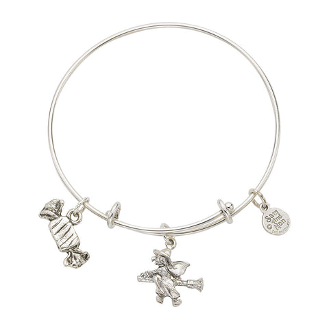 Witch Candy Expandable Charm Bangle Bracelet - SamandNan