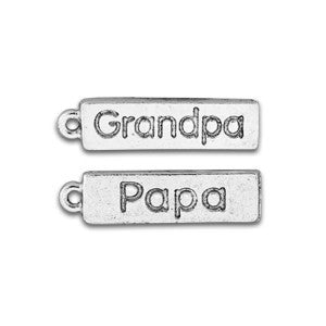 Grandpa / Papa Saying Charm - SamandNan