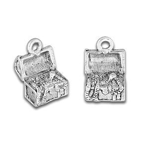 Pirate Treasure Chest Charm - SamandNan