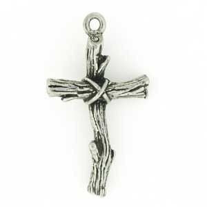 Wooden Cross Pendant - SamandNan
