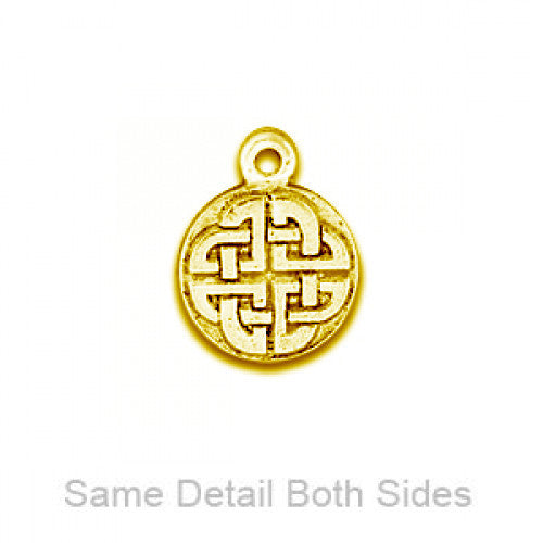 Gold Celtic Circle - SamandNan