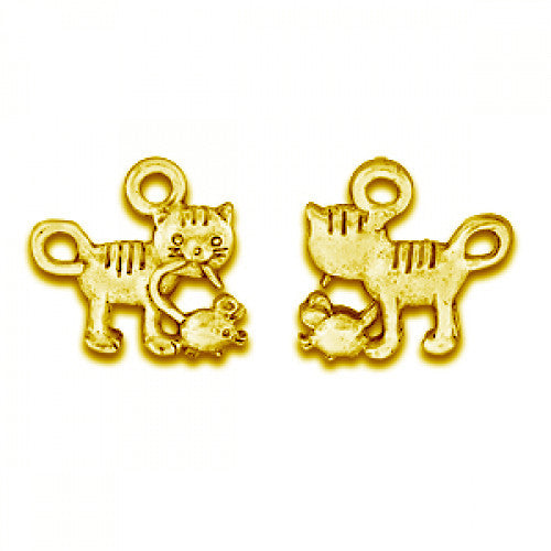 Gold Cat & Mouse - SamandNan