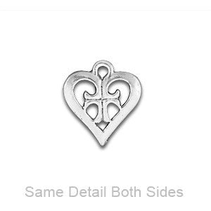 Heart and Cross Charm - SamandNan