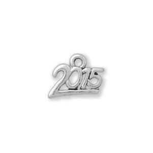 2015 Charm. Sterling Silver Finish. USA Made - C927S - SamandNan