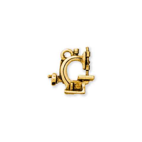 12.7 MM Hand Crank Sewing Machine Gold - SamandNan