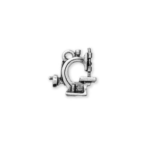 12.7 MM Hand Crank Sewing Machine Silver - SamandNan