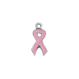 Pink Ribbon Cancer Charm - SamandNan
