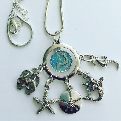 Cape Cod Nautical Charm Necklace - SamandNan