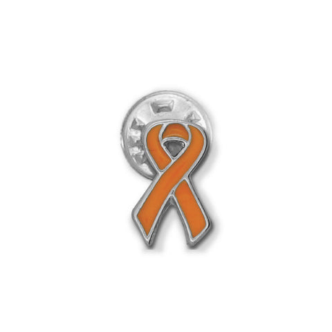 Orange Leukemia Ribbon Stick Pin - SamandNan