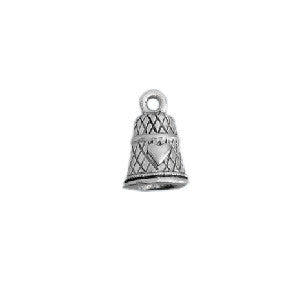 Sterling Silver Thimble Charms - SamandNan