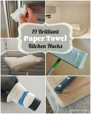 Kitchen Hacks - 19 Great Uses For Paper Towels