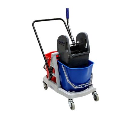 Habitat Pro Mop Double Trolley - Cleaning Hub Centurion.Your Cleaning Supplies Company.