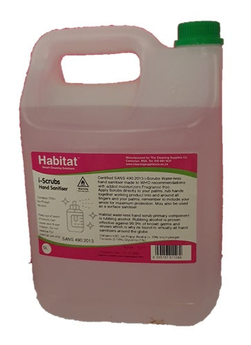 Hand and surface alcohol based sanitiser