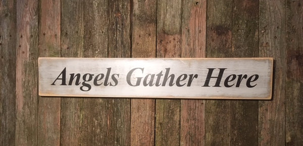 """Angels Gather Here"""