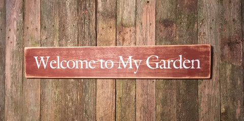 """Welcome to My Garden"""