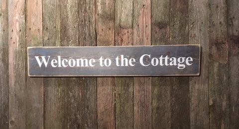 """Welcome to the Cottage"""