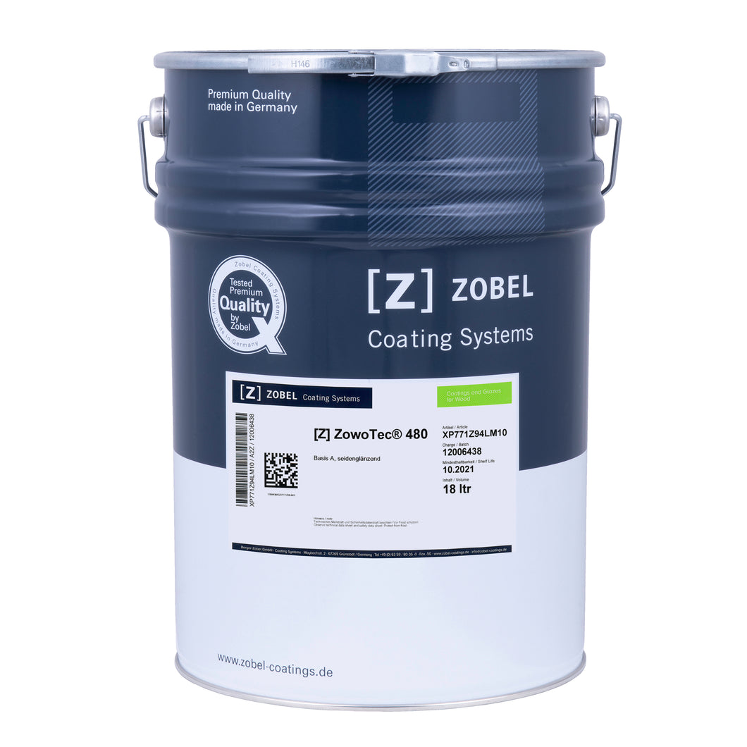 Zowotec 480 Exterior Top Coat - Coloured (1 Litre)
