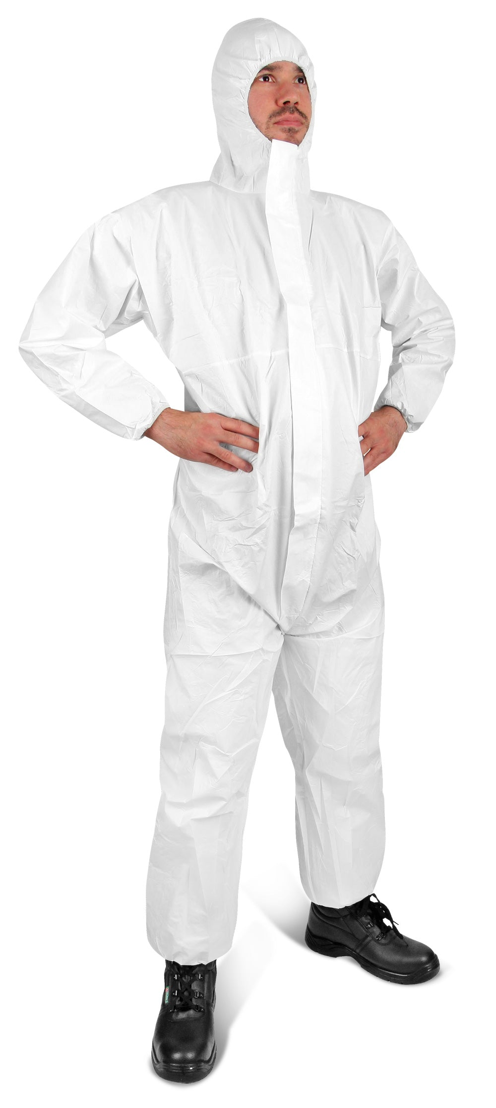 Click Disposable Coverall - Type 5/6 White