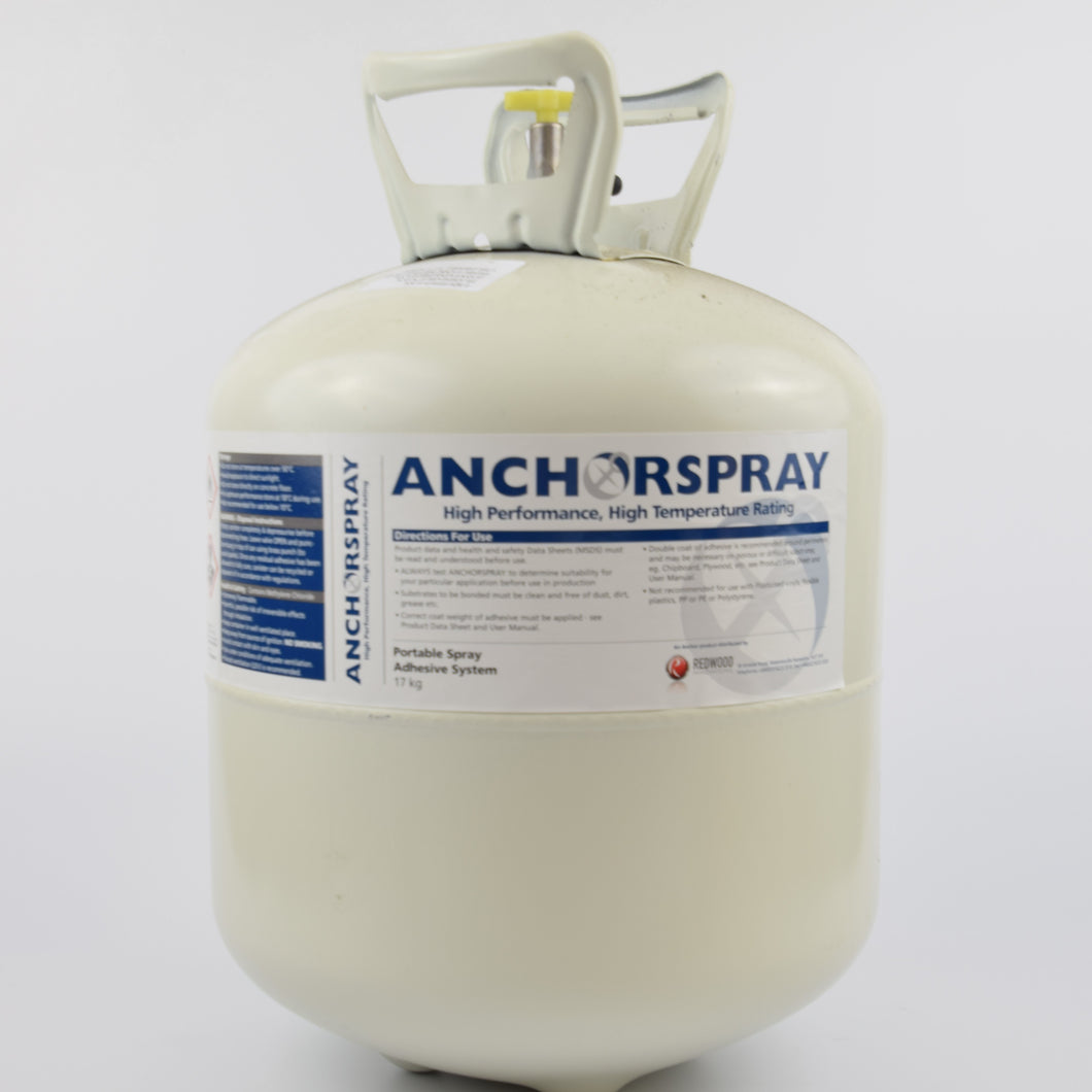 Anchorspray 1200 High Temperature Adhesive Clear 17Kg