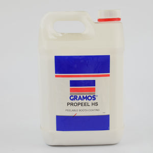 Peelable Spray Booth Coating - White - 5 Litres
