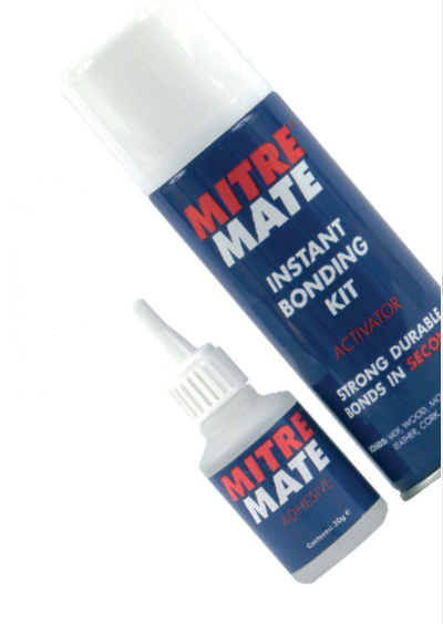 Mitre Mate Instant Bonding Kit 200ml/50g