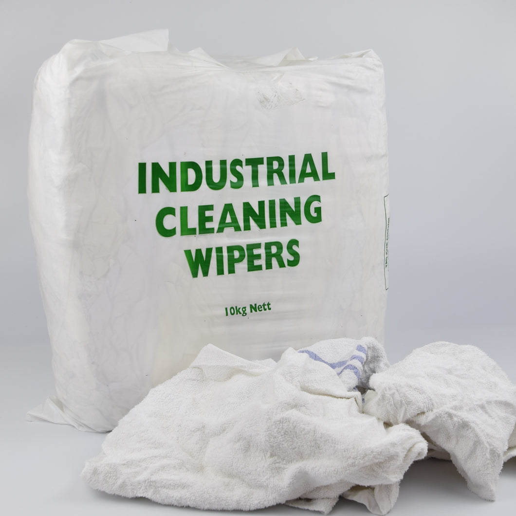 White Sheeting Wipers - 10 Kg
