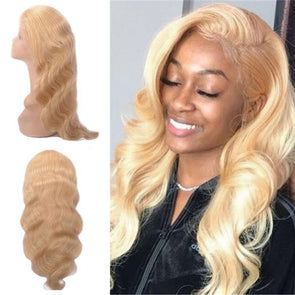 613 Lace Front Wig Body Wave Pre Plucked 13x4 T1B/613 Blonde Lace Front Human Hair Wigs Colored Brazilian Remy Lace Wig