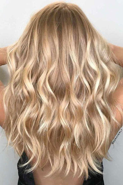 Long Blonde Wig Body Wave Hair Human Hair Frontal Wig For Women Affordable Realistic Wigs Online For Sale