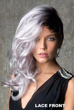 Grey Hair Lace Wigs With Lace Front