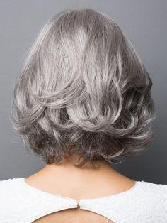 African American Mixed Gray Wigs