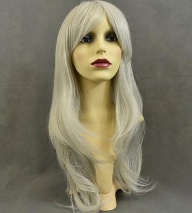 Grey Ombre Wig With Lace Front