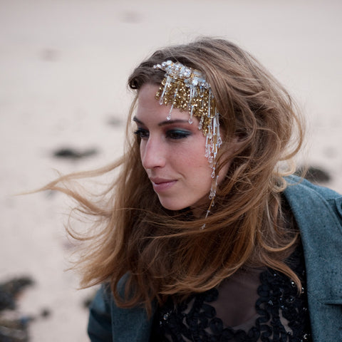 Gold Aphrodite Headdress