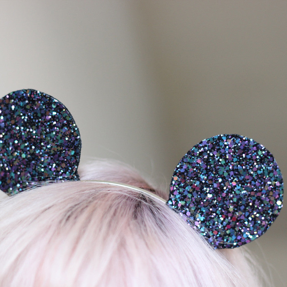 Mouse Ears - Dark Blue