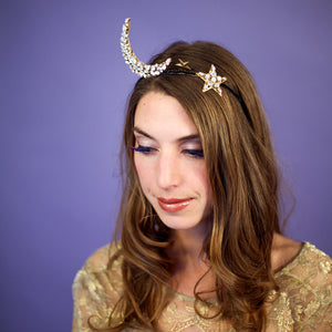 Hollywood Moon Tiara
