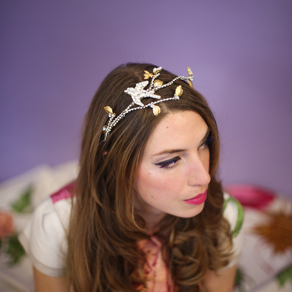 Swallow Tiara