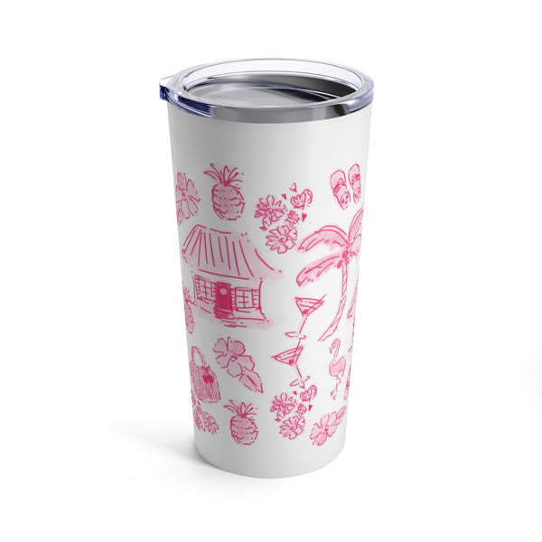 Tahiti Beach Party Tumbler