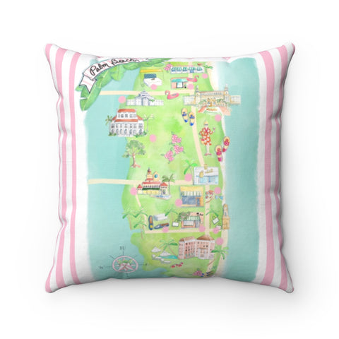 Palm Beach Pillow Pop