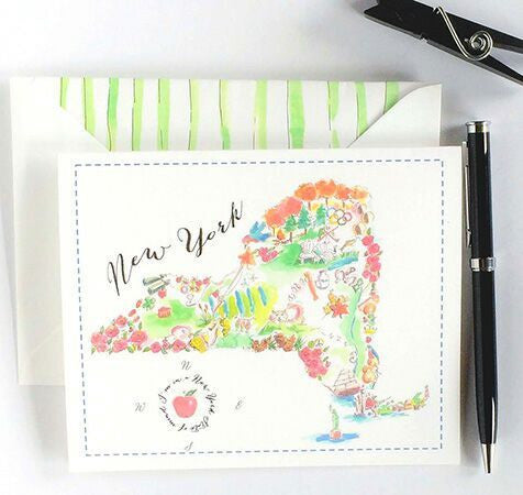 The Big Apple Note Cards