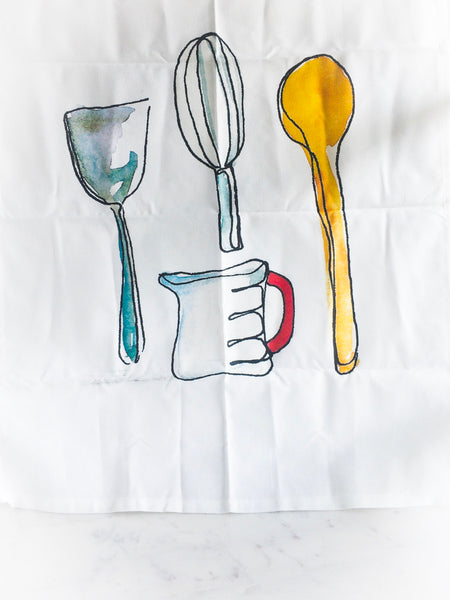 Bake me a Cake-Tea Towel